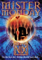 Mister Monday UK Cover