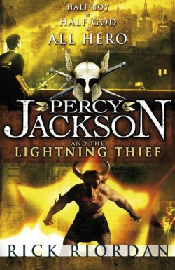 Percy Jackson and the Lightning Thief cover