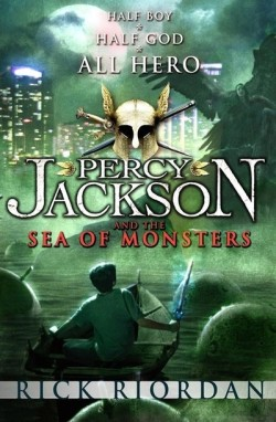 Percy Jackson and the Sea of Monsters by Rick Riordan cover