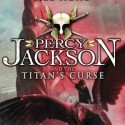 Percy Jackson and the Titan's Curse by Rick Riordan cover