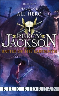Percy Jackson and the Battle of the Labyrinth by Rick Riordan cover