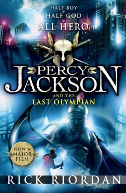 Percy Jackson and the Last Olympian cover