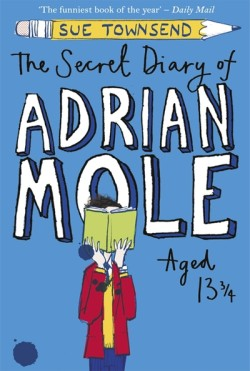 The Secret Diary of Adrian Mole Aged 13 and 3/4s by Sue Townsend cover