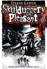 Skulduggery Pleasant by Derek Landy cover