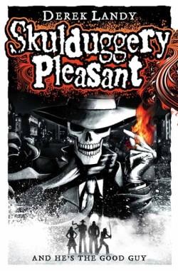 Skulduggery Pleasant by Derek Landy cover