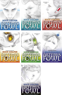 New 2011 Artemis Fowl Cover Rebrand