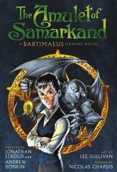 The Amulet of Samarkand graphic novel by Jonathan Stroud cover
