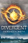 Divergent by Veronica Roth cover
