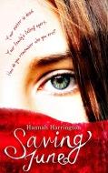 Saving June by Hannah Harrington cover