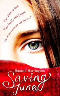 Saving June by Hannah Harrington cover