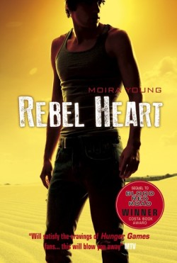 Rebel Heart by Moira Young cover