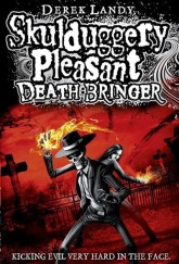 Skulduggery Pleasant: Death Bringer by Derek Landy cover