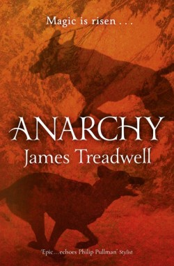 Anarchy by James Treadwell cover