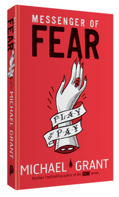 Michael Grant Messenger of Fear cover