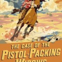 The Case of the Pistol Packing Widows by Caroline Lawrence UK cover