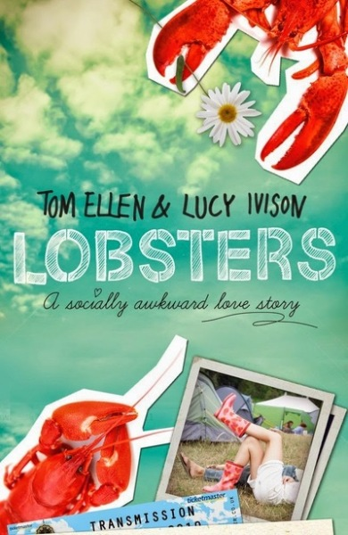 Lobsters book cover by Lucy Ivision and Tom Ellen