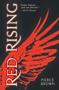 Red Rising by Pierce Brown book cover