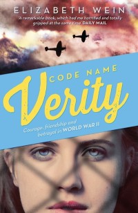 Code Name Verity by Elizbeth Wein UK paperback cover
