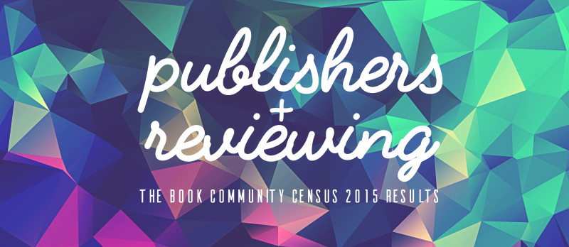 publishers and reviewing book community census results