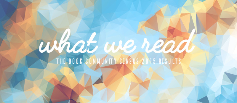 book community census results - what we read
