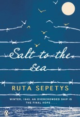 Salt to the Sea by Ruta Sepetys UK cover